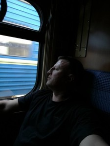 я у потязі