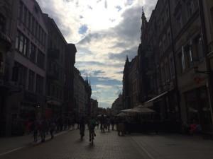 красива вулиця торунь