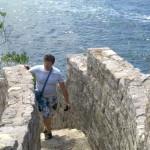 сходи фортеці у Будіві